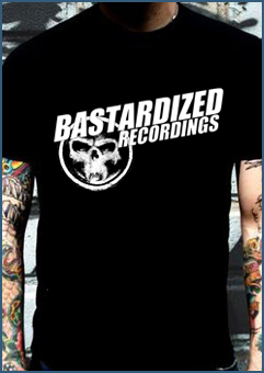 Bastardized Recordings 'logo' T-Shirt
